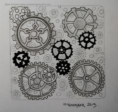 One Tangle : Day One Hundred and Twenty Four