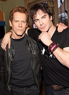 Ian Somerhalder & Kevin Bacon // Yes yes yes