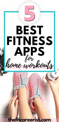 No gym, no problem! If you need an effective home workout plan, look not further than these top 5 workout apps, plus a bonus free option! You'll be squatting your way to health in no time. Home workouts, no equipment and Home bodyweight workouts. Best Free Workout Apps, Best Workout For Women, At Home Workouts For Women, Workout Plan For Beginners, At Home Workout Plan, Workout Plans, Health And Fitness Apps, Fitness Tips, Fitness Motivation