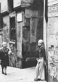 Genoa,Vico della croce bianca ,Italy 1960-70 by Lisetta Carmi