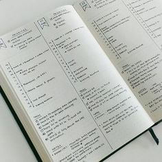 Tages Layout Bullet Journal