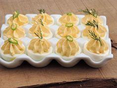 Gevulde eieren + variaties