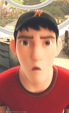 my fav gif of Tadashi Big Hero 6