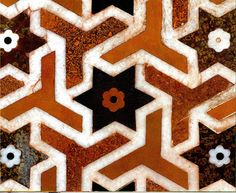Mughal decoration was created by Indian rulers who encouraged and financed excellence in the art of artisans from the the and lasting 250 years. Islamic Patterns, Indian Patterns, Textures Patterns, Islamic Tiles, Islamic Art, Mughal Architecture, Art And Architecture, Painting Patterns, Fabric Painting