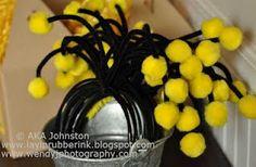 Bee headbands.  Too cute!