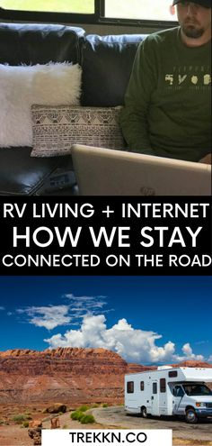 Do you want to stay connected while on the road? Here are our top five RV internet solutions that kept us connected, productive and entertained while traveling full-time via RV. Our internet connection is absolutely necessary, making great things possible. And yet the pursuit of that connection seems to occupy far too much of my mind space on some days at least. Let's jump right in and take a look at our best recommendations and internet for RV options based on our experience as full-time… Rv Internet, Rv Living, Connection, Entertaining, Rv Travel, Let It Be, This Or That Questions, Outdoor, Outdoor Games