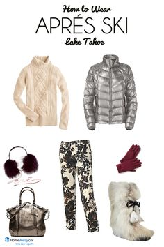 Packing for Après Ski, Ski Clothes Packing List - HomeAway Vacation Ideas Apres Ski Mode, Apres Ski Party, Vacation Ideas, Ski Vacation, Packing Clothes, Ski Clothes, Outdoor Party Outfits, Lago Tahoe, Apres Ski Outfits
