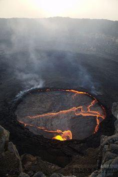 Danakil/Erta Ale eruption, Ethiopia by shuttertreks on Flickr.
