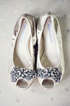 Wedding flats... cause I want to be as short as possible and not to mention comfortable