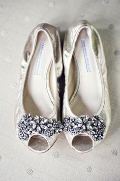 vera wang bridal flats