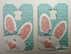 Inking Idaho: Chalk Talk Bunny Tags