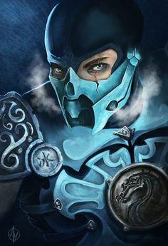 Sub-Zero — персонаж игры Mortal Kombat. Sub Zero Mortal Kombat, Kitana Mortal Kombat, Mortal Kombat Art, Comic Books Art, Comic Art, Kung Lao, Mortal Combat, Mileena, Video Game Art