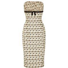 Giambattista Valli Leopard-print silk-shantung and chiffon dress ($2,895) ❤ liked on Polyvore