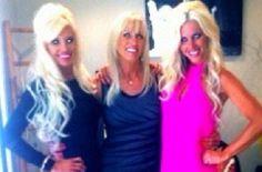 Big Rich Atlanta  Harvin and Meyer Eadon with their mother Virginia...my favs