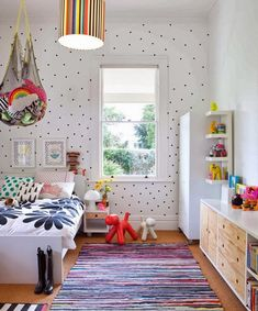 Eclectic kids rooms - the boo and the boy [ Wainscotingamerica.com ] #kids #wainscoting #design