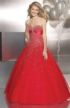 Sweetheart Ball Gown Floor-length Sleeveless Sweet 16 Style Code: 05460 $119