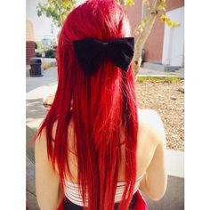 Vibrant Red Hair Dye | SEXY RED - 6 Scarlett Red Hair Chalks |... ❤ liked on Polyvore featuring beauty products, haircare, hair color, hair, hairstyles and beauty