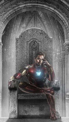 Iron Man Throne iPhone Wallpaper - Technology News Marvel Dc, Marvel Comic Universe, Marvel Heroes, Marvel Cinematic Universe, Iron Man Kunst, Iron Man Art, Iron Man Wallpaper, Iron Man Avengers, Cv Inspiration