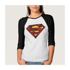 Superman 67 Tee Shirts ($22) ❤ liked on Polyvore featuring tops, t-shirts, superman tee and superman t shirt