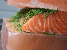 Curing with Salt Guide - Pink Himalayan Salt Block Curing | used to cure salmon to gravalox