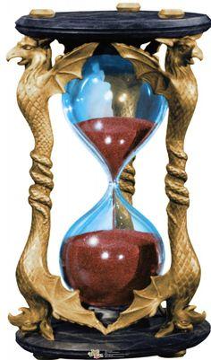 Wizard of Oz Wicked Witch Hourglass