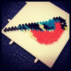 Bird hama mini beads by mariesmynkning