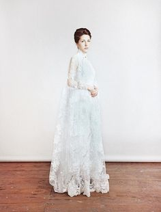Wedding Dress Anna Russka Vintage Photosession