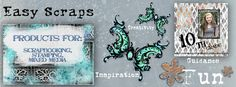Easy Scraps - Products for Scrapbooking, Stamping and Mixed Media