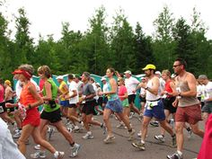 Paavo Nurmi Marathon, Hurley, Wis. One of the few races where you just might cross paths with a bear.