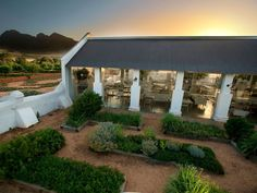 Babylonstoren (Dutch for Tower of Babel) near Franschhoek, South Africa - Brainchild of Karen Roos San Jose Del Cabo, Cape Dutch, Farm Stay, Architectural Digest, Cape Town, South Africa, Highlight, Outdoor Structures, Outdoor Areas