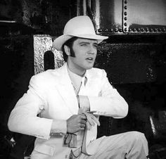 Elvis in a 'Trouble With Girls', I so loved him in this suit, it suited him beautifully