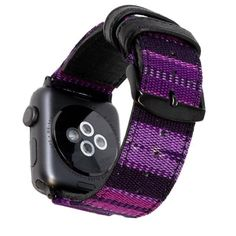 Bring a little piece of the world with you every where you go with the Global Artisan Bands for Apple Watch. Rainbow Band, Red Band, Apple Watch Bands, Cool Style, Artisan, Fashion Accessories, Watches, Purple, Leather