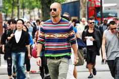I want pretty: LOOK HOMBRE - Street Style!