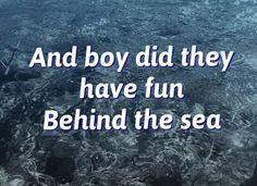 Behind the sea- Panic! At The Disco: Pretty.Odd lyrics