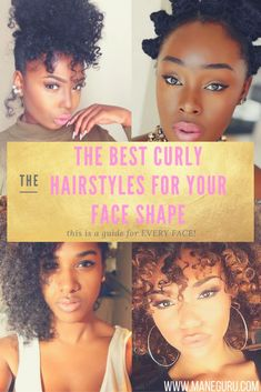 What's the Best Curly Hair for my Face Shape? Click to see what curly hair fits…