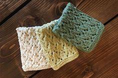 100% Økologiske forårs karklude - Strikkede karklude. Gratis opskrift Drops Design, Fingerless Gloves, Arm Warmers, Knitting Patterns, Blanket, Diy, Accessories, Lchf, Crocheting