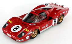 The SpA Ferrari SEFAC Ferrari 512S as entered at Le Mans 1970 for Arturo Merzario - Clay Regazzoni. http://www.racingmodels.com/ferrari--512s-merzario---regazzoni-le-mans-1970-118-28759-p.asp