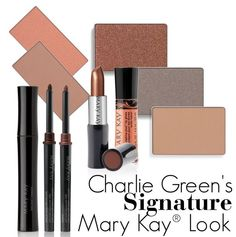 Get celebrity makeup artist Charlie Green's signature look yourself with these great Mary Kay® products! #MKMakeover