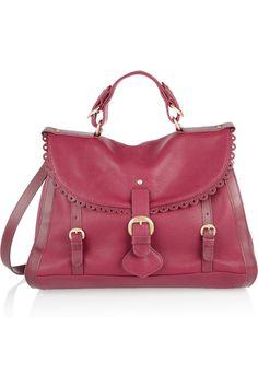 See by Chloé|Poya leather satchel|NET-A-PORTER.COM