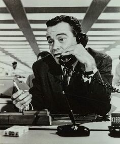 Jack Lemmon in The Apartment, 1960, directed by Billy Wilder.     Billy Wilder and Jack - doesn't get any better!!