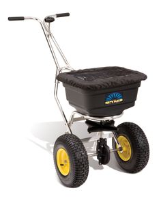 Spyker Stainless Steel S40 5020 50 Lb Pro Series Commercial Broadcast Spreader The