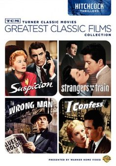 Greatest Classic Films Collection: Hitchcock Thrillers DVD