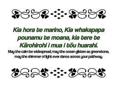 Maori Proverbs Kia hora te marino, Kia whakapapa pounamu te moana, kia tere te Kārohirohi i mua i tōu huarahi. May the calm be widespread, may the ocean glisten as greenstone, may the shimmer of light ever dance across your pathway. Maori Words, Maori Symbols, Proverbs Quotes, Maori Art, Thought Bubbles, Sketch Notes, Classroom Displays, Favorite Words, Childhood Education