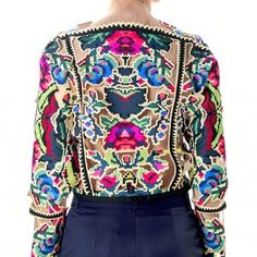 Haute couture laser cut top with digital print. Only Fashion, Womens Fashion, International Fashion, Ethical Fashion, Outfit Posts, Laser Cutting, Fashion Inspiration, Passion, Group