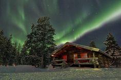 Photographier les aurores boréales : la composition