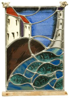 Stain and painted glass work from Bobby Coleman Glass, Fife, Scotland
