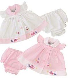 8ea3a5c12c1b BabyPrem Baby Clothes Premature Tiny & Newborn Girls Pretty Dress & Pants  Set