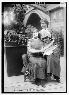 Helen Keller (June 1880 – June was an American author, political activist, and lecturer. She was the first deafblind person to earn a Bachelor of Arts degree About Helen Keller, Helen Keller Quotes, Anne Sullivan, People Of Interest, Library Of Congress, Special People, The Past, Old Things, History