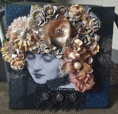 Mixed Media with Prima Products...simply stunning!