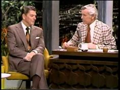 I miss both of these guys ~ JOHNNY CARSON INTERVIEWS RONALD REAGAN